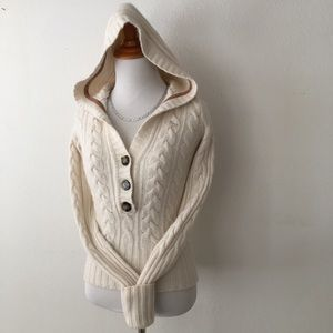 🆕 Abercrombie & Fitch |  Cashmere Hoodie Sweater